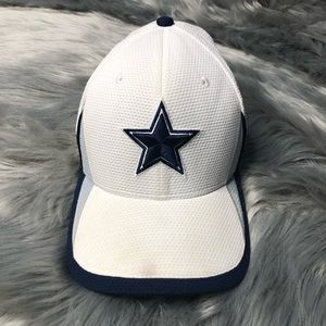 White Dallas Cowboys Hat